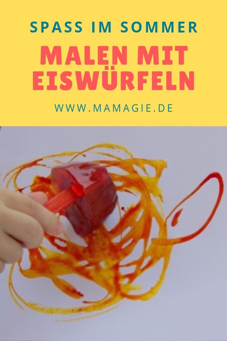 Photo of Malen mit Eiswürfeln