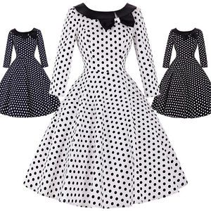 discount retro 1950's dresses | Cheap Vintage Retro 1950s 50s Swing Pinup Housewife Party Prom Dress ...