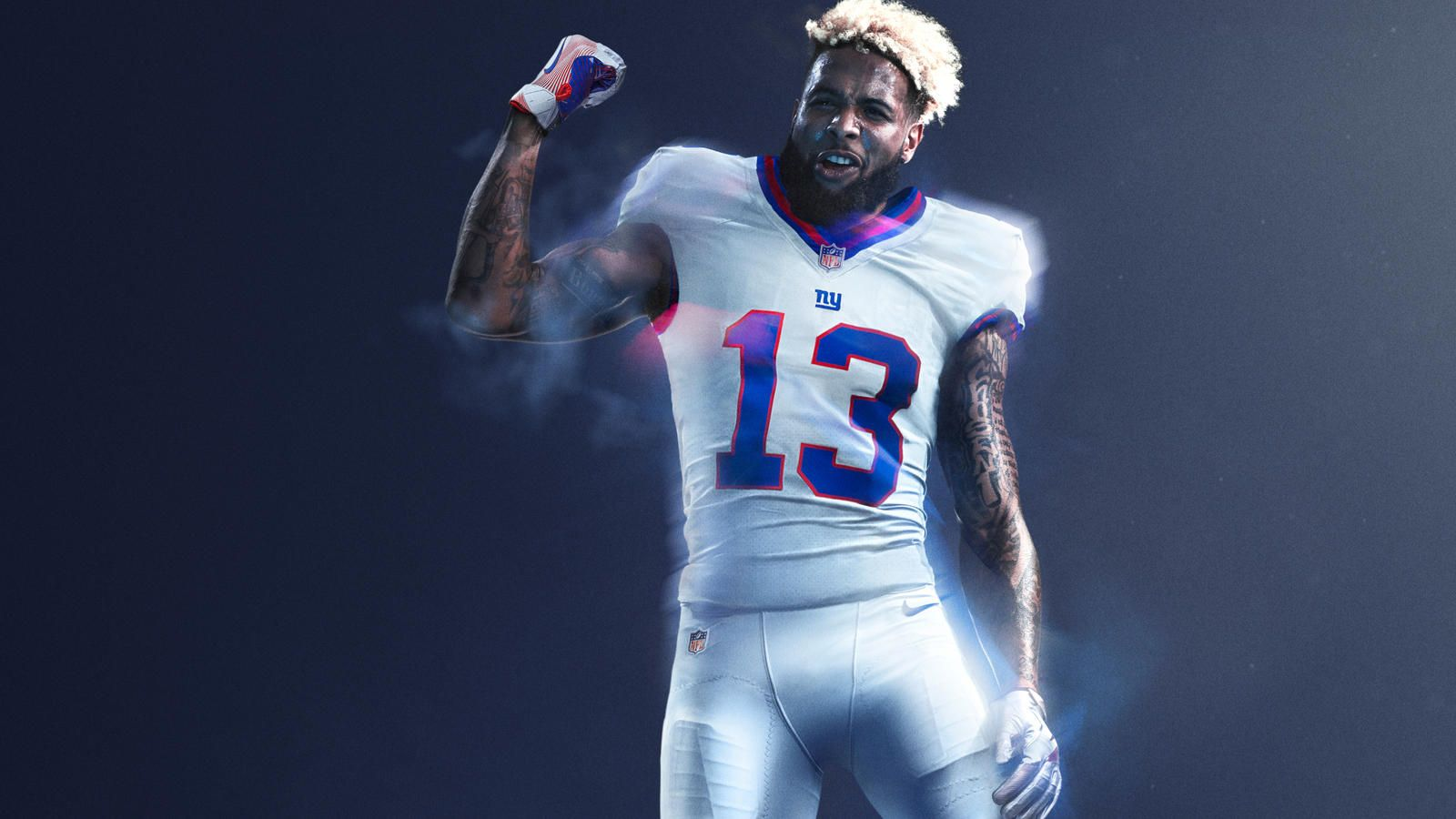 Nike And Nfl Light Up Thursday Night Football Nfl Color Rush Uniforms Color Rush Uniforms Odell Beckham Jr