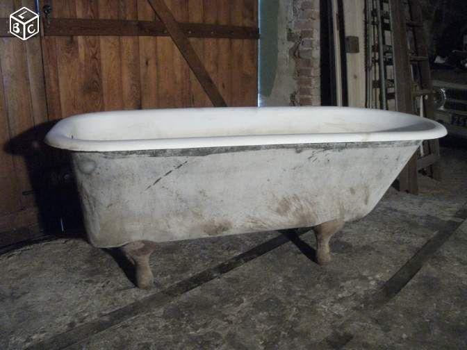 ancienne baignoire fonte pattes de lion r nover. Black Bedroom Furniture Sets. Home Design Ideas