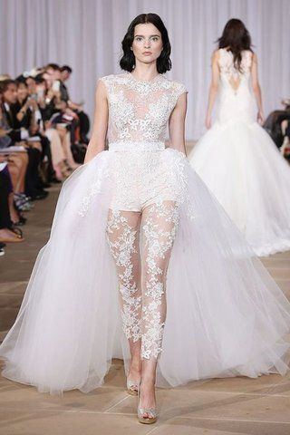 876bb7d66604 14 Stunning Bridal Jumpsuits to Replace Wedding Dresses | Non ...