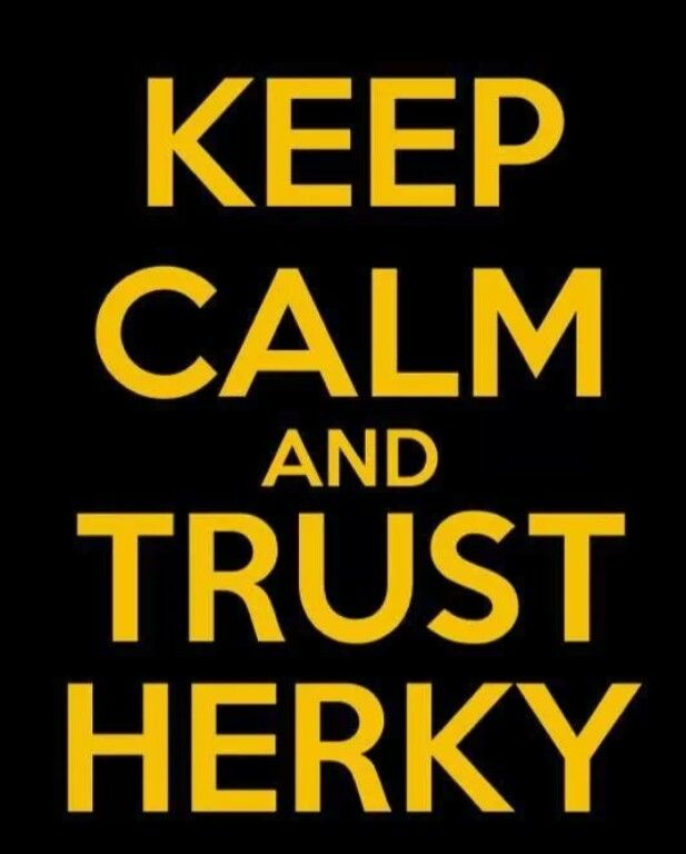 Keep Calm And Trust Herky Iowa Hawkeyes How To