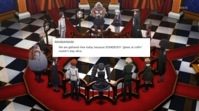 Dr Text Posts It Had To Be Done Part 2 Danganronpa Danganronpa Memes Danganronpa Characters