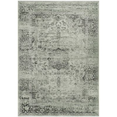 Create A Focal Point In Your Living Room Or Traditional Study With This Vintage Style Rug Showcasing Faded Design