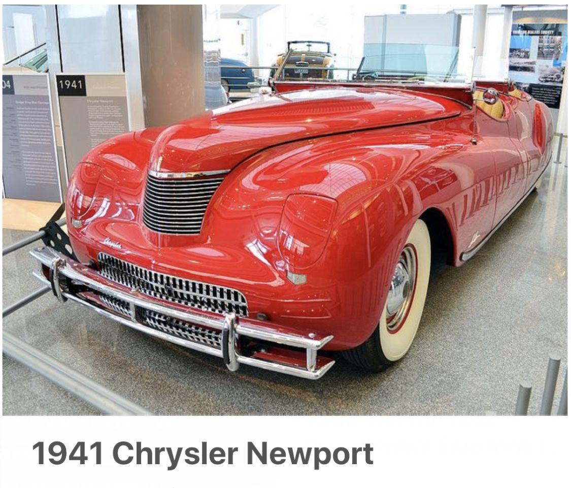Chrysler Newport, Classic Cars