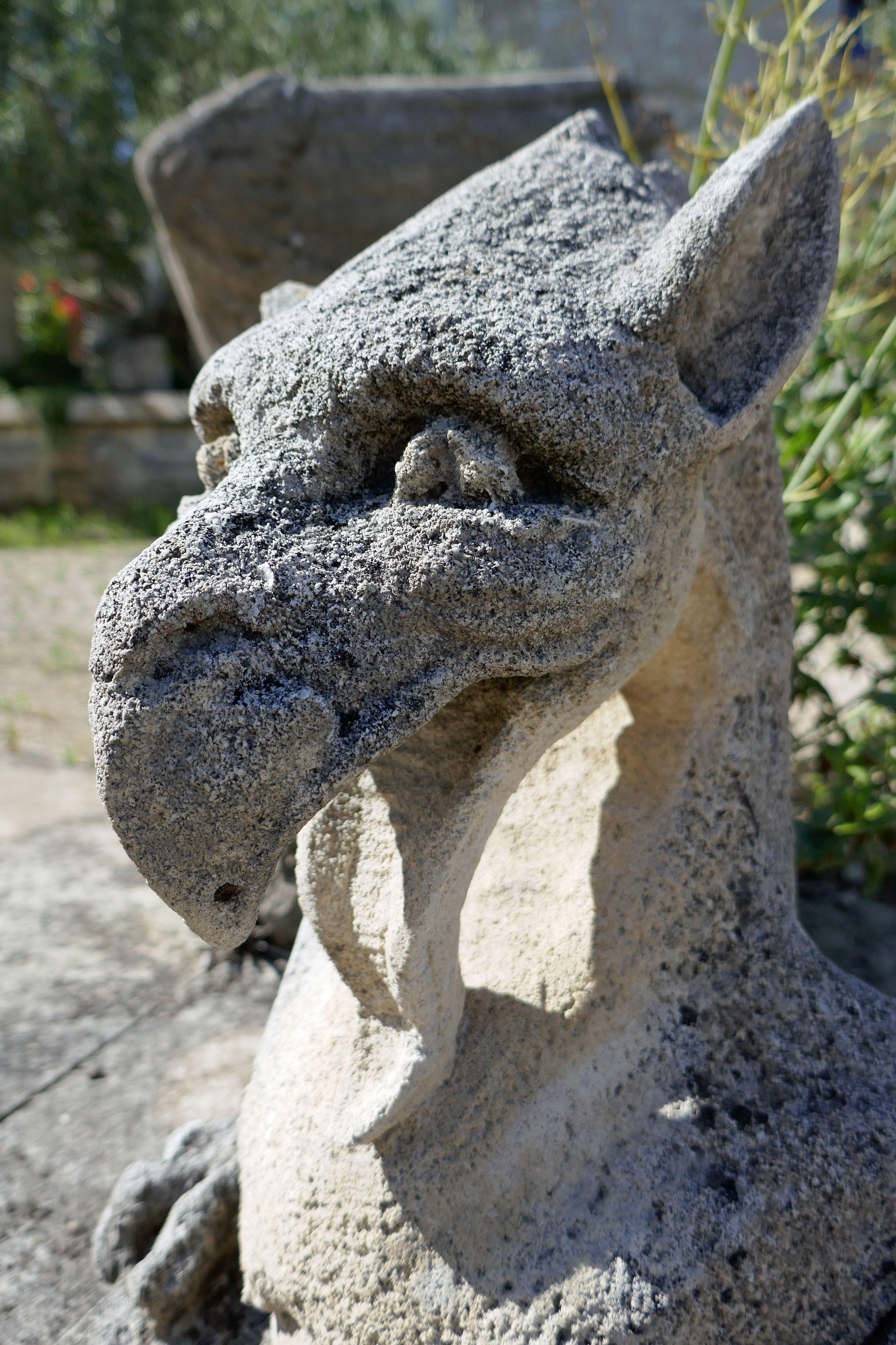 Alain Bidal monstre mythique finement sculpté à la main par le maître artisan