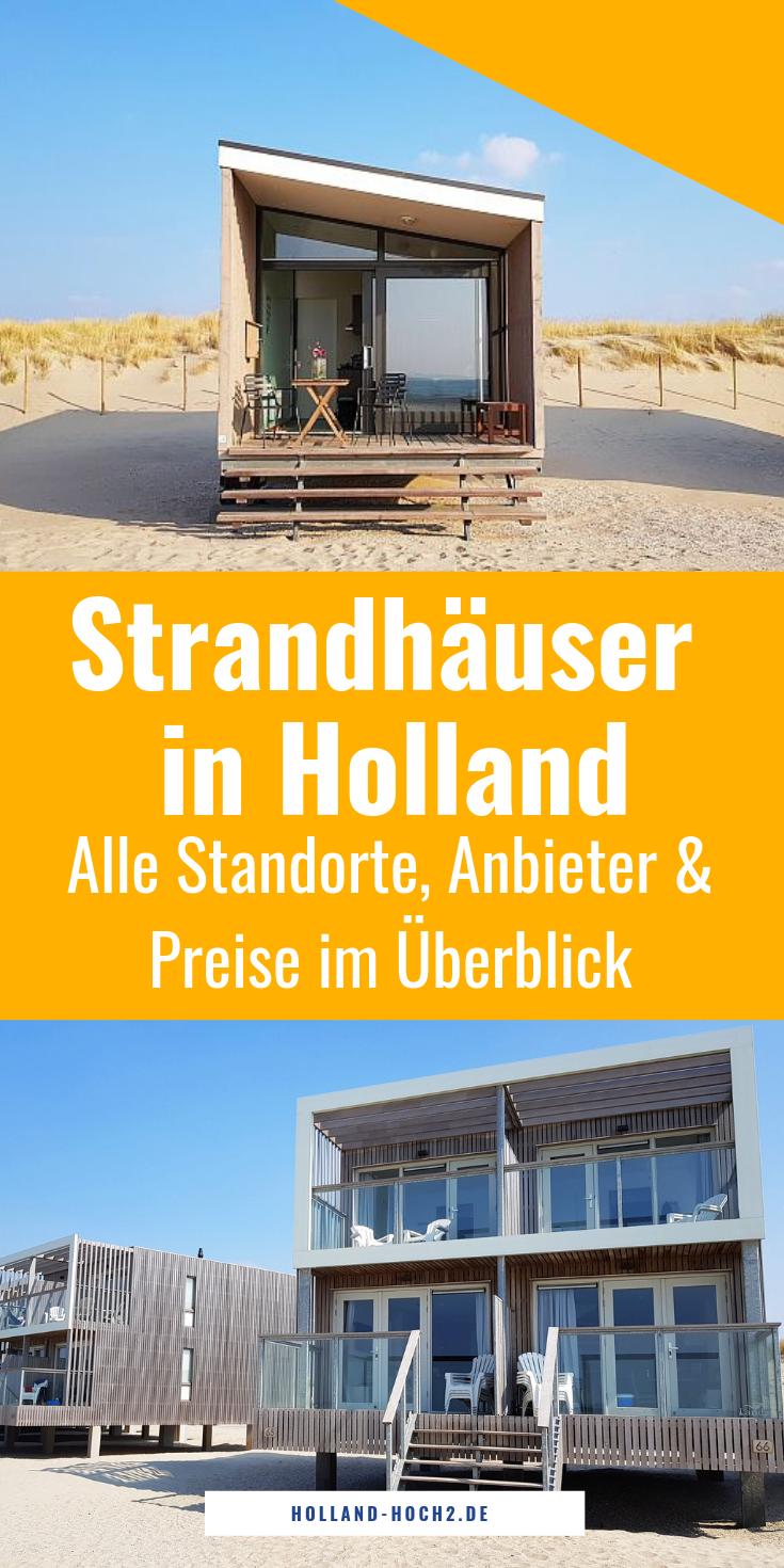 Alquiler de casas de playa en Holanda: verificación de precios y ubicaciones