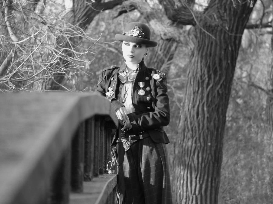 Becky Irene The Silent Killing Machine  MySteampunkArmy  Photographer:  Tommy Roberson  MUA:  Varla Skye