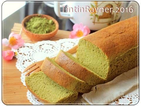 Resep Castella Green Tea Aka Kasutera Traditional Japanese Honey Cake Oleh Tintin Rayner Resep Makanan Resep Tintin