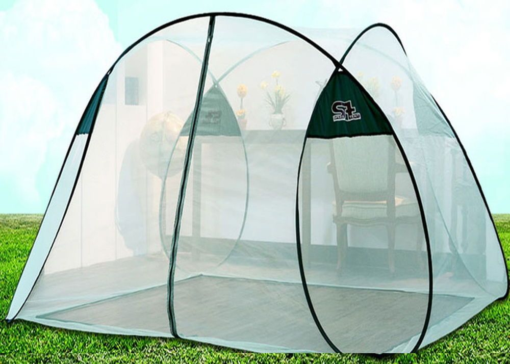 Onetouch White Portablefolding Mosquito Net Insect Camping