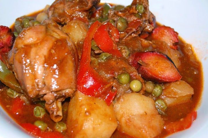 Afritadang Manok Chiken Afritada Recipe Good Eats Pinterest