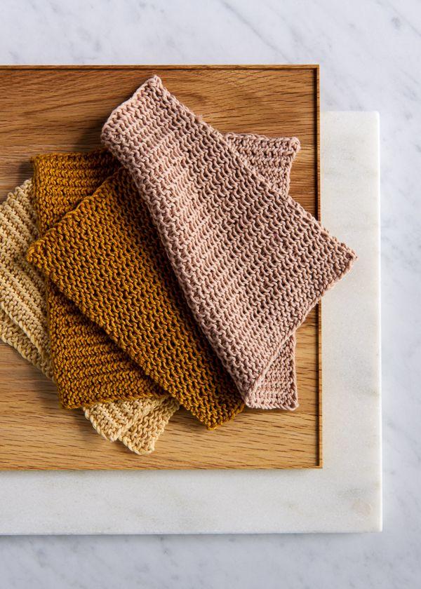 Close Knit Washcloths Purl Soho Knitting Pinterest Knitted