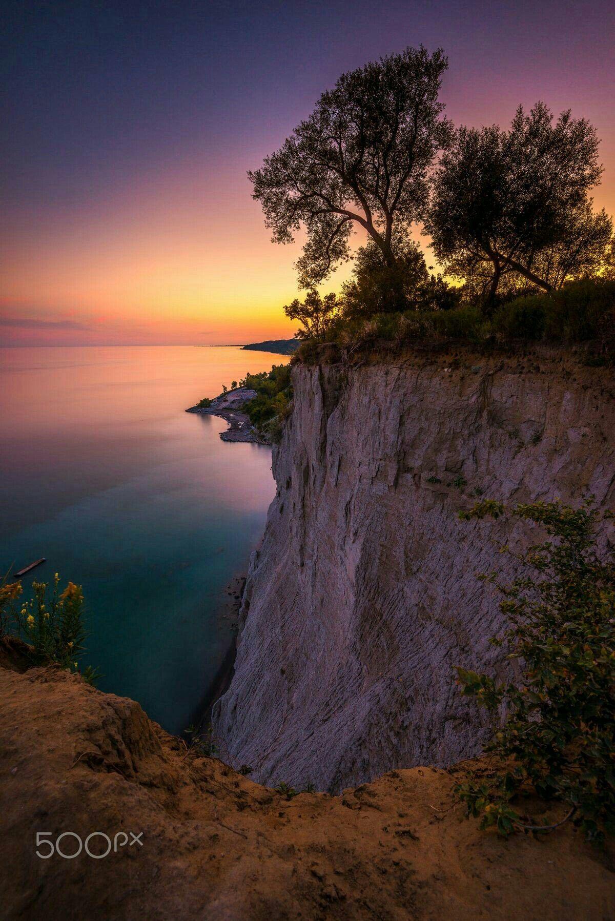 Sunset Cliff Fotografia Natural Paisajes