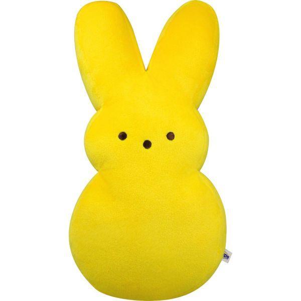Large Yellow Peeps Bunny Plush #bunnyplush