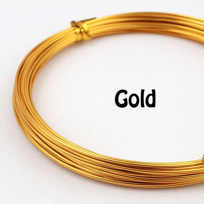 1mm 18 gauge length 10m 33ft 11yd anodized aluminum round wire dead ...