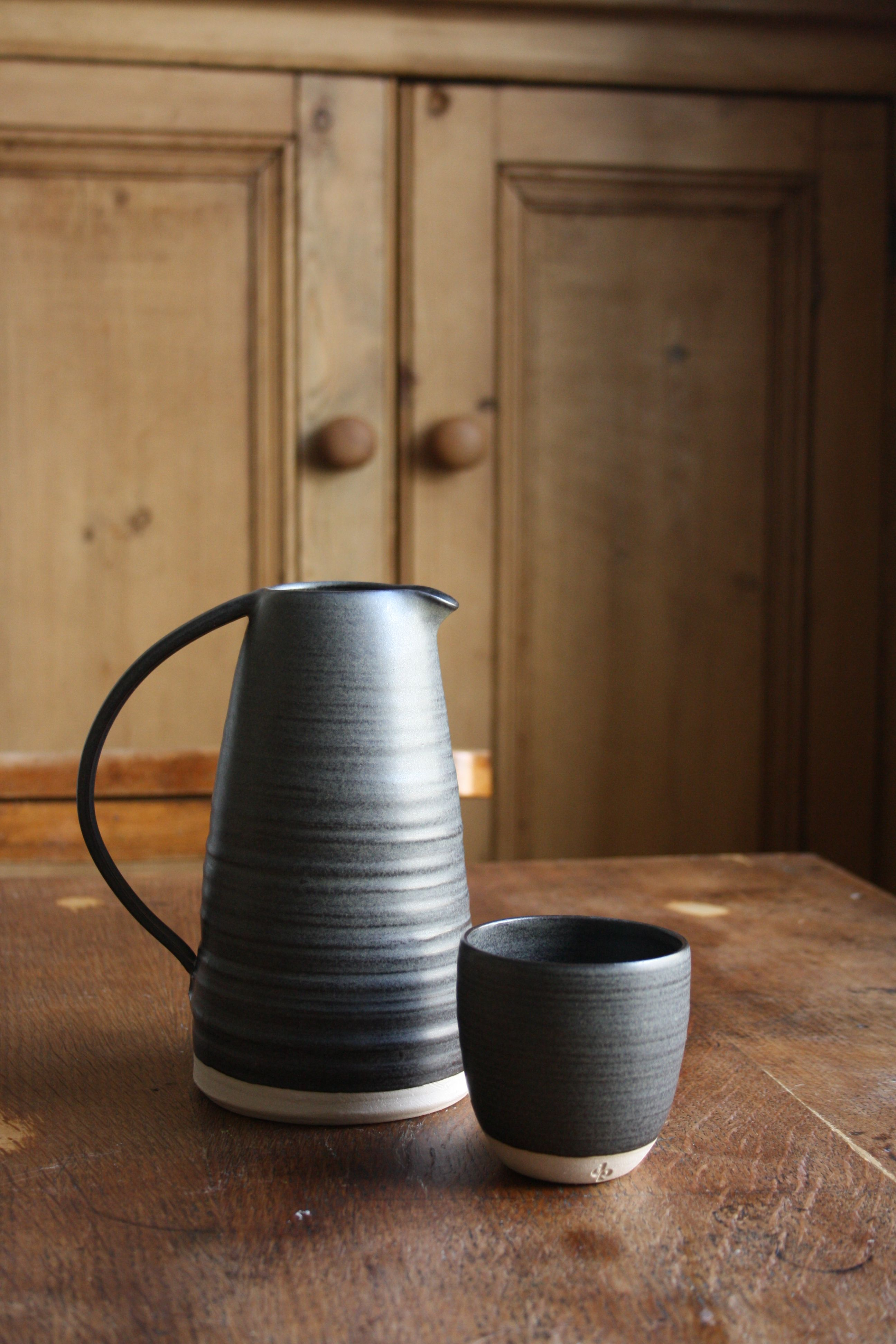Jug and beaker by Dove Street Pottery