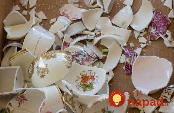 Ak máte deti, určite to dobre poznáte. Rozbitá brúsená váza, tanier, alebo dokonca aj ozdobná porcelánová súprava, ktorú ste mali starostlivo…