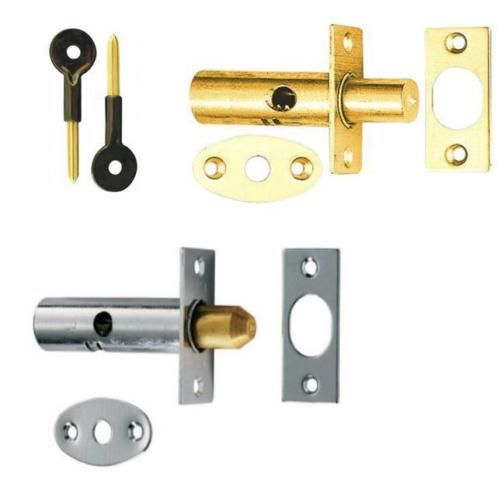 Security Door Dead Bolts Secure Strong Rack Bolts With Fittings