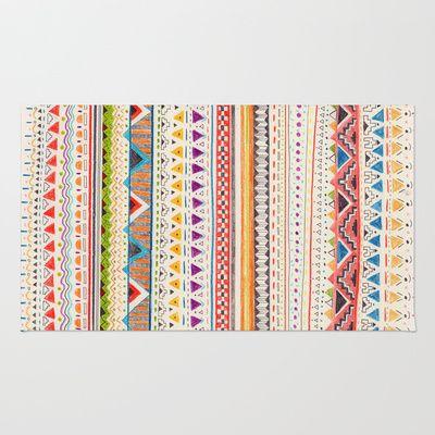 Pattern Rug by Sandra Dieckmann
