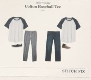 Stitch Fix Men - Tailor Vintage, Colton Baseball Tee