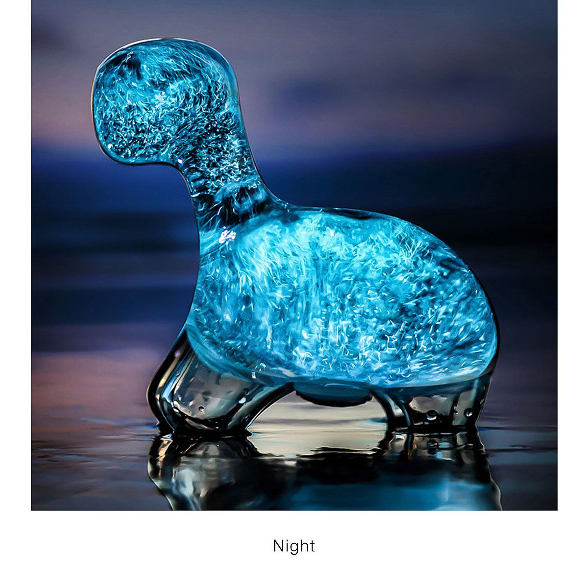 Bioluminescent Dino Pet Glowing Plankton Cool