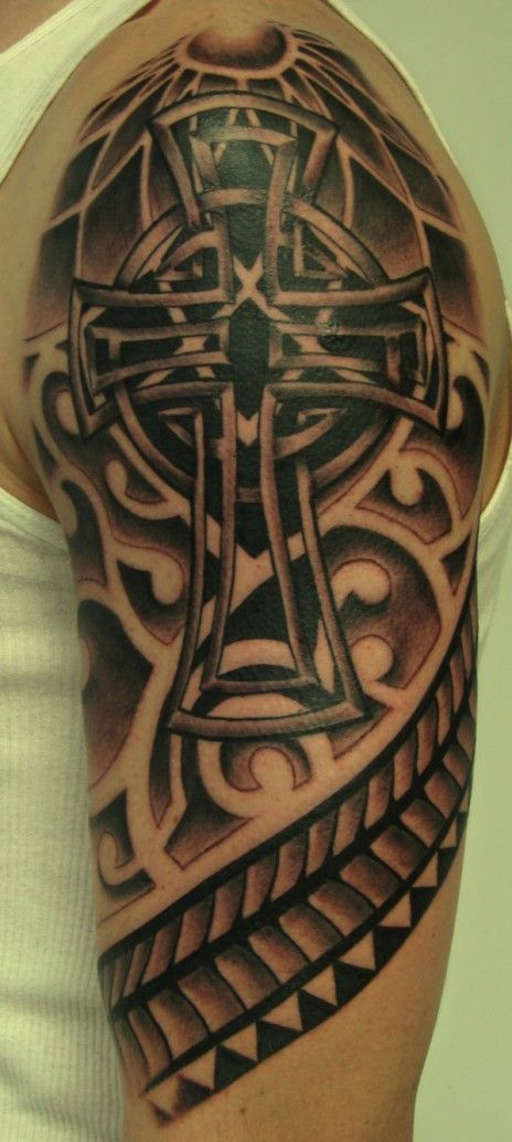 Krzyż Tatuaż Krzyż Wzorytatuaży Tatuaże Dla Każdego Tattoos