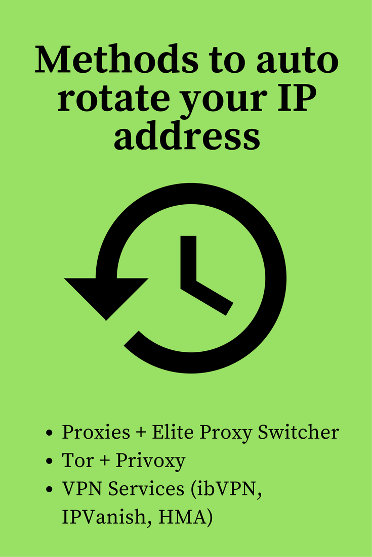 Automatically change IP, auto change ip, schedule IP address change