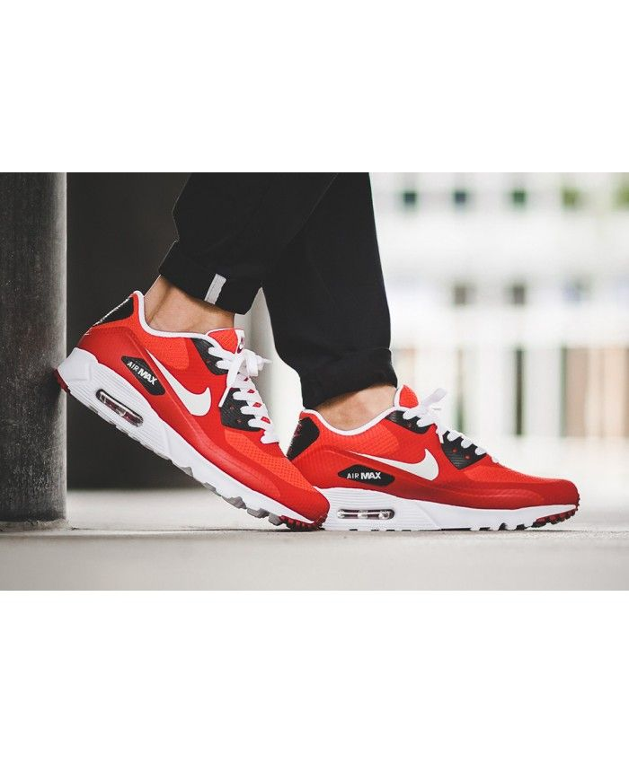 premium selection f9947 dde7f Nike Air Max 90 Ultra Essential Action Red Shoes