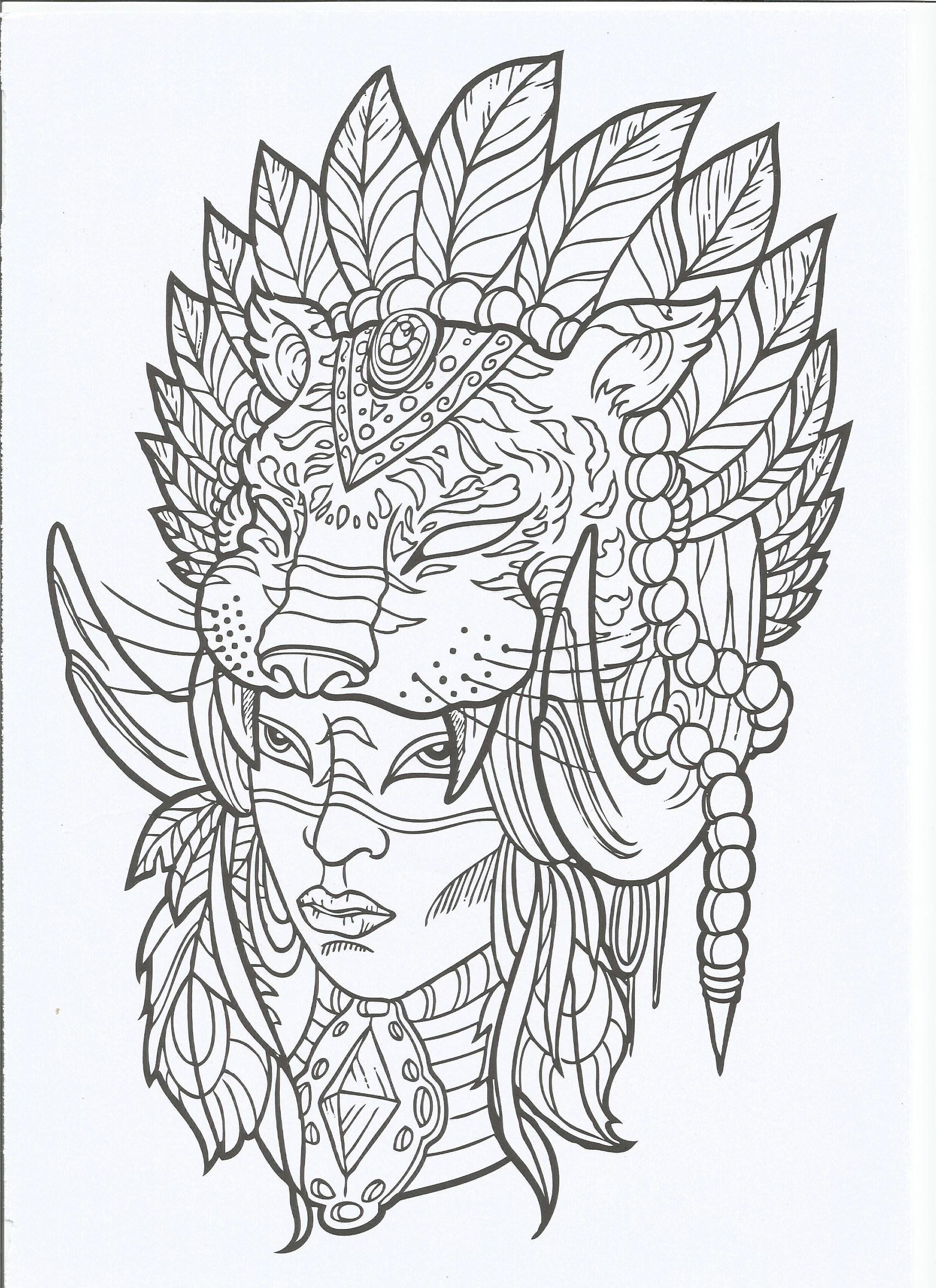 Pin By Diva De Aragao On Para Colorir Tattoo Coloring Book Coloring Book Art Designs Coloring Books