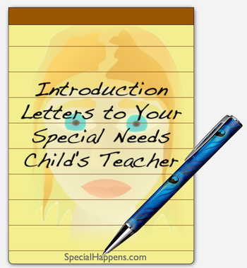 Tip Introduction Letters To Your Special Needs ChildS Teacher