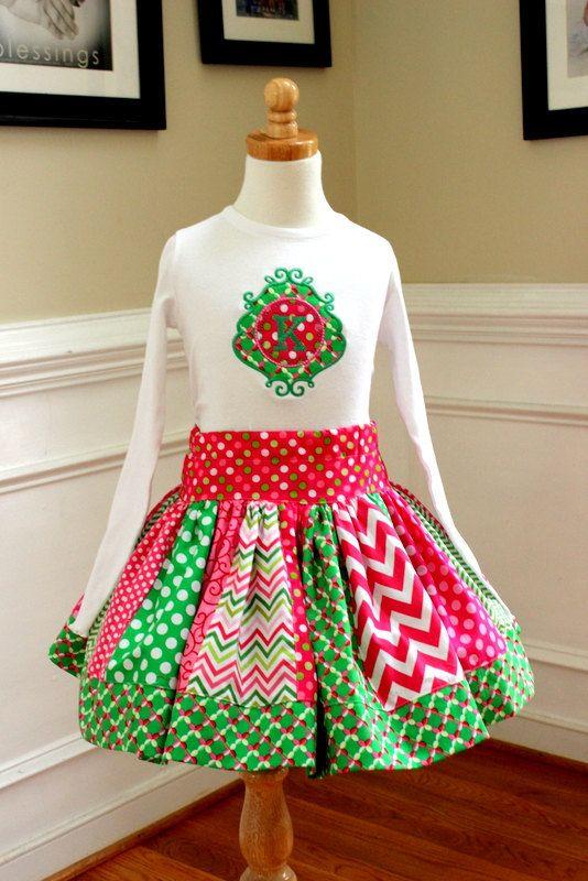 girls dress 5 girls clothing girls christmas clothing childrens clothing 3T 4T 10 sizes 2T 8 Girls Christmas Dress 7 6 12