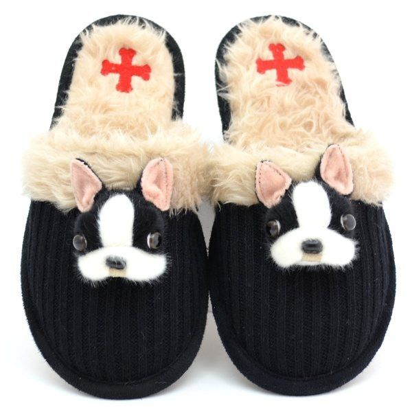 Fuzzy Nation Dog Breed Slippers