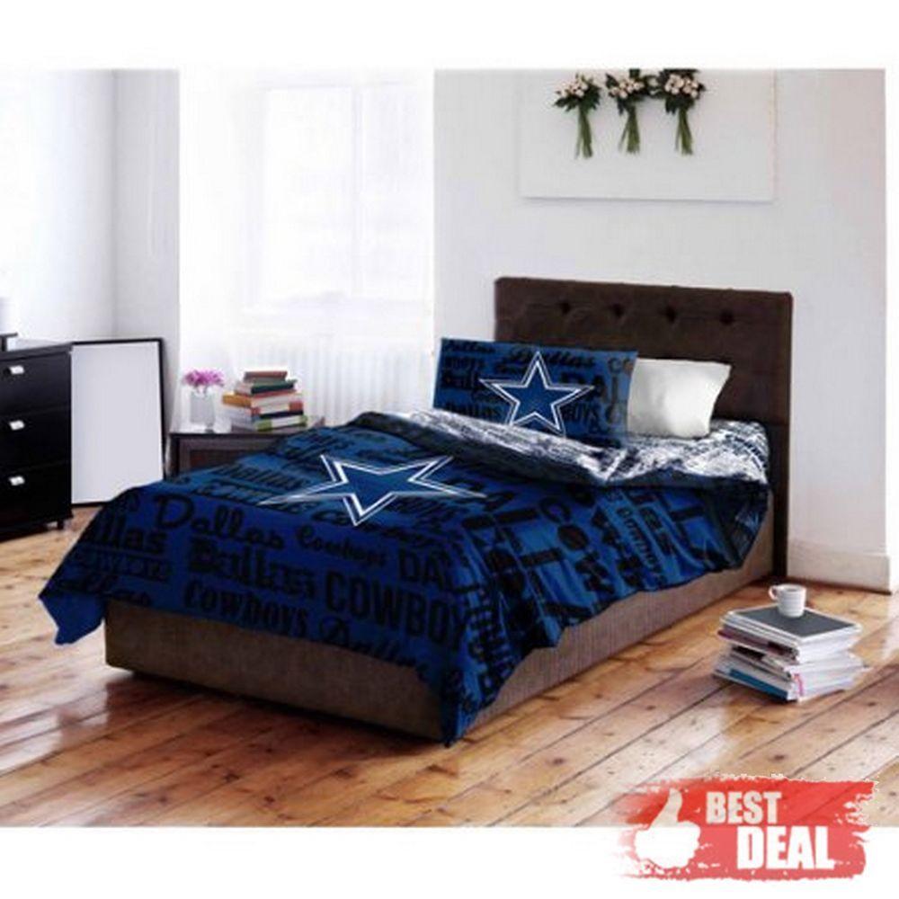 Nfl Dallas Cowboys Bedding Set Queen Twin Comforter Sheet