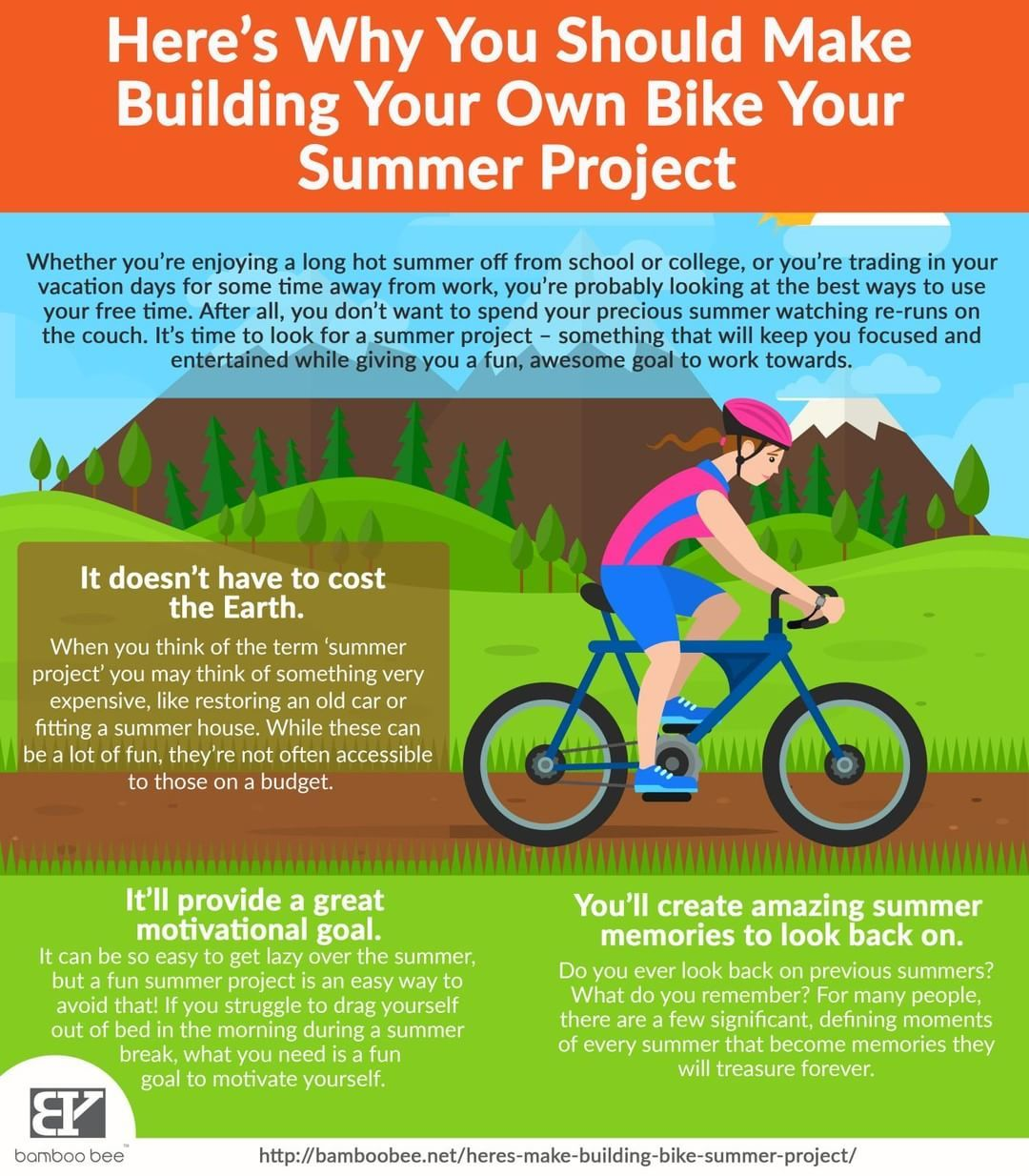 Why You Should Build Your Own Bike In Your Summer Project