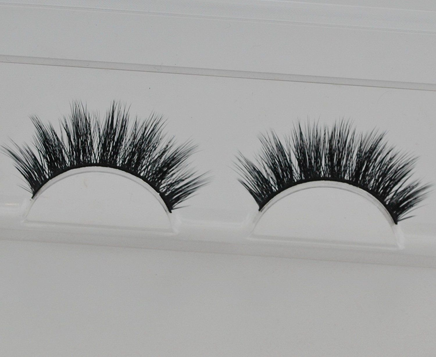 Handmade Luxurious 100% Real Mink Natural Long Cross False Eyelashes Fake Eye Lashes Makeup *** Check out the image by visiting the link.