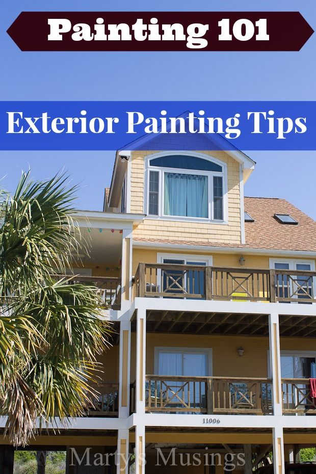 Exterior Painting Tips Exterior Paintings And Professional Painters