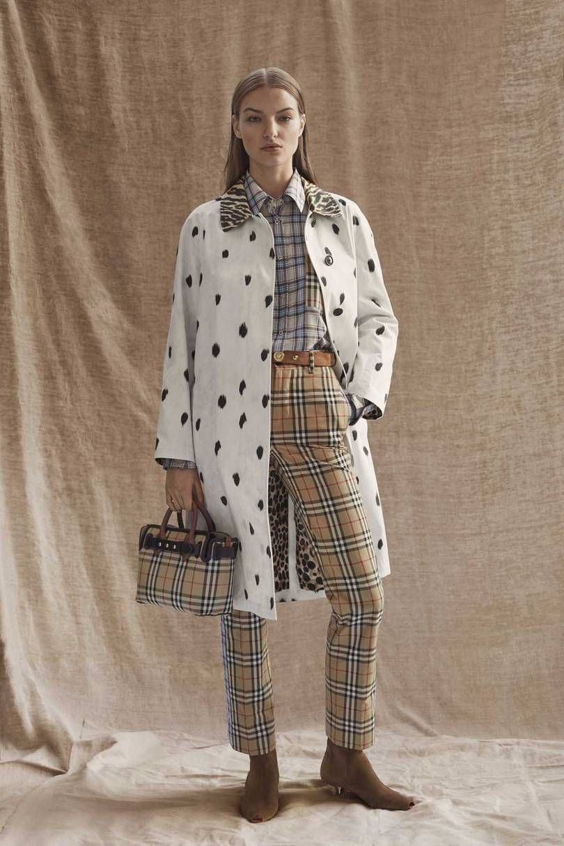 Burberry Autumn/Winter 2019 PreFall Fall fashion trends
