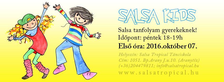 . : Salsa kids :: Salsa gyerekeknek 5-15 éves korig, péntekenként 18-19 óráig…