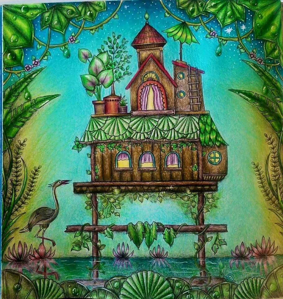 Pin by Shandra Wiley on Coloring Johanna Basford Magical Jungle ...