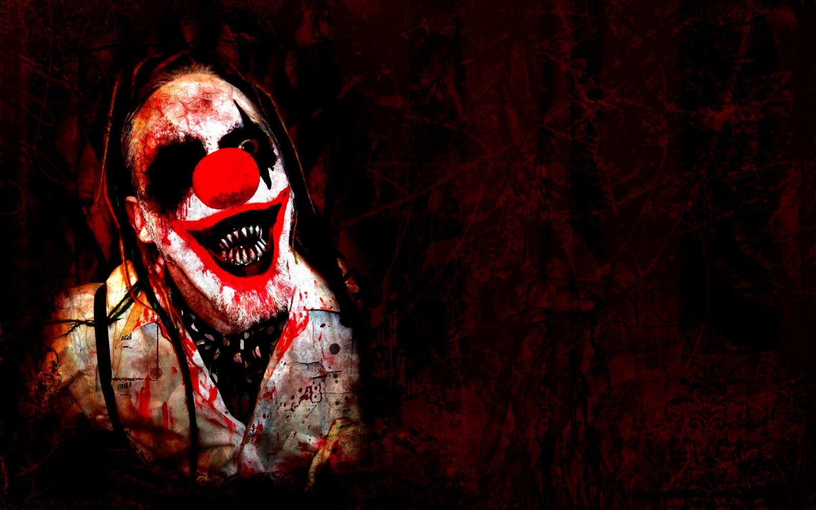 Images For > Evil Jester Wallpaper Evil clowns, Creepy