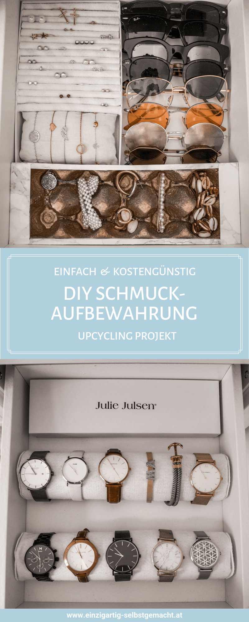 Photo of Schmuckaufbewahrung do it yourself – DIY Ikea Hack für Kallax Regal –  Schmucka…