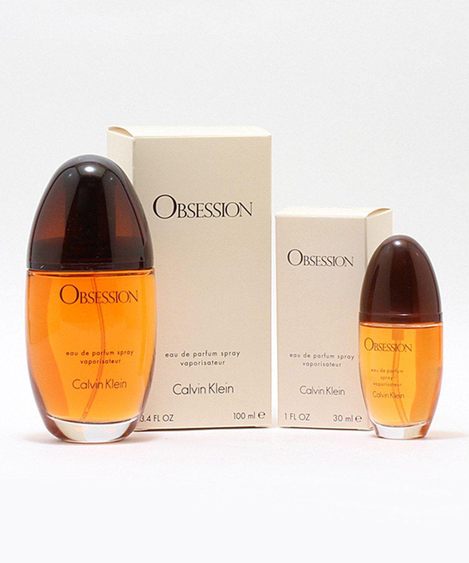 Look at this #zulilyfind! Calvin Klein Obsession 3.4-Oz. & 1-Oz. Eau de Parfum by Calvin Klein #zulilyfinds