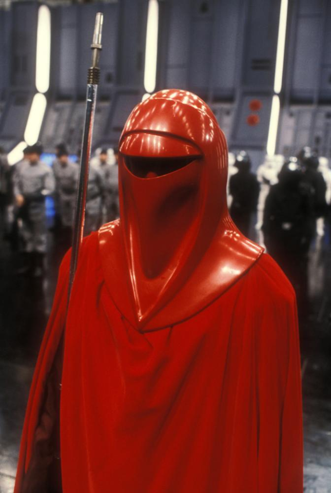 Star Wars Imperial Emperor/'s Red Royal Guard Cosplay Costume Uniform Outfit NN