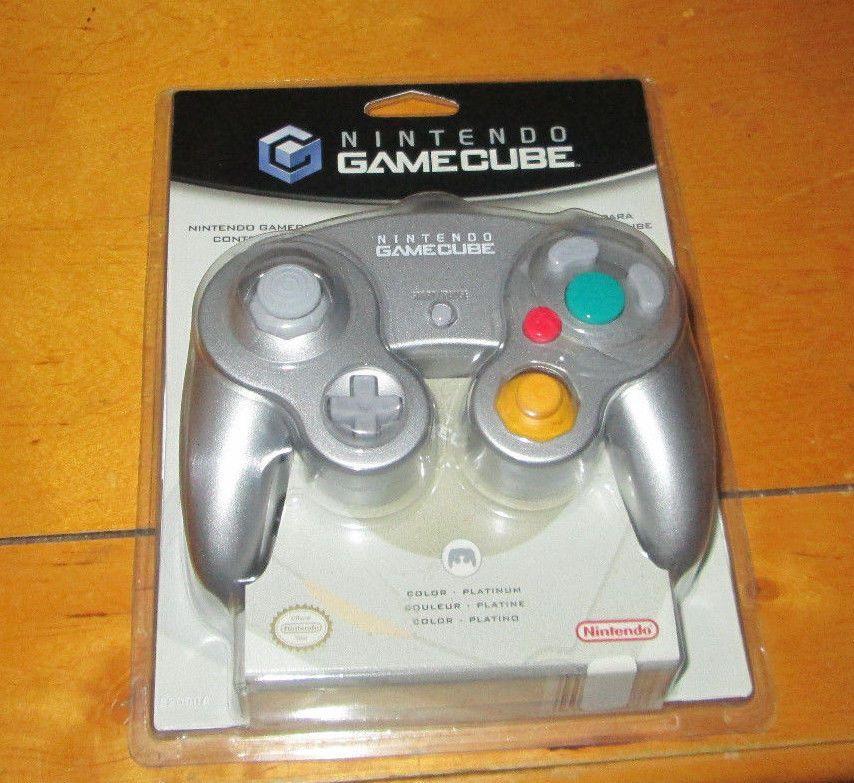 PLATINUM Nintendo GAMECUBE CONTROLLER BRAND NEW OEM OFFICIAL GENUINE