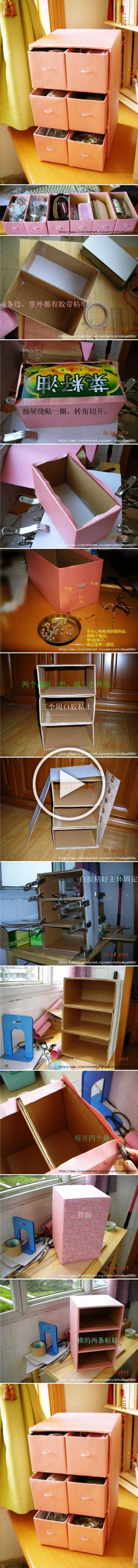 25 geniale Möglichkeiten, alte Pappkartons zu verwenden, anstatt sie wegzuwerfen