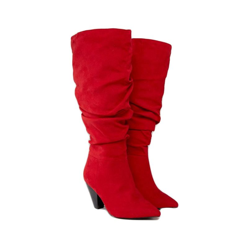 8be7608a8ea7 10 Red Boots That Are So Chic And Won t Cost You More Than  175 ...
