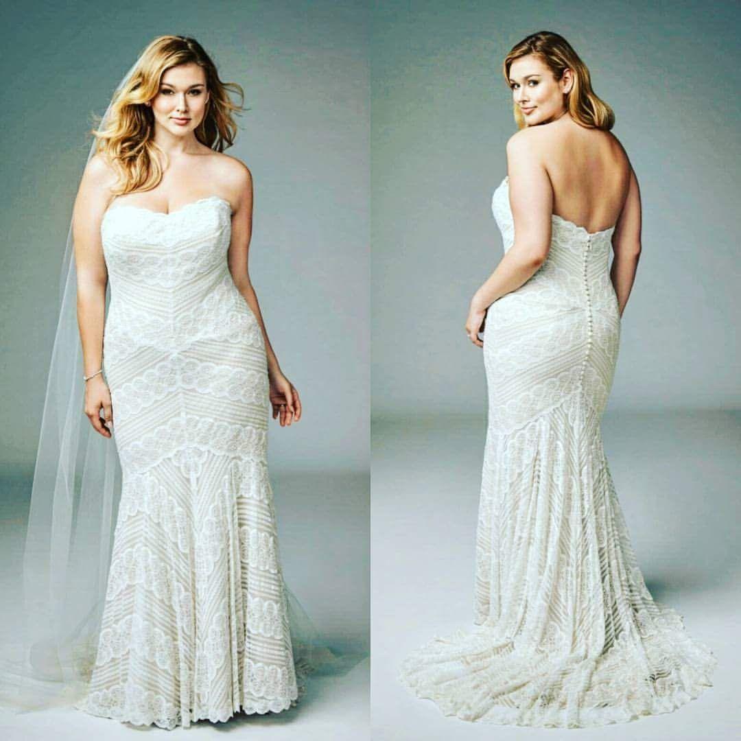 32 Surreal and Hypnotic plus Size Romantic Wedding Dress that Put ...