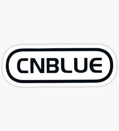 Cnblue logo sticker