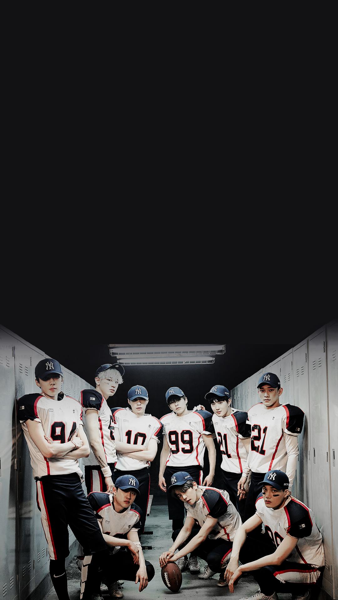 Exo Iphone Wallpaper Exo Pinterest Exo Exo Members