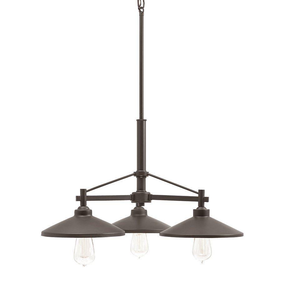 Kichler lighting covington 3 light olde bronze metal shade kichler lighting covington 3 light olde bronze hardwired standard chandelier aloadofball Choice Image